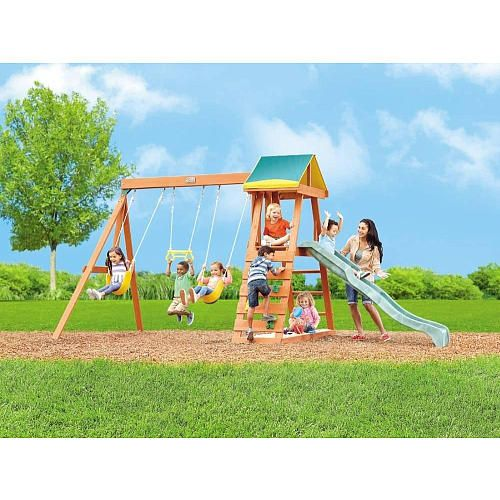 "Madison Wood Gym Set - Big Backyard - Toys ""R"" Us ..."