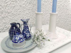 Stilleben by Sanne - Blue and white china