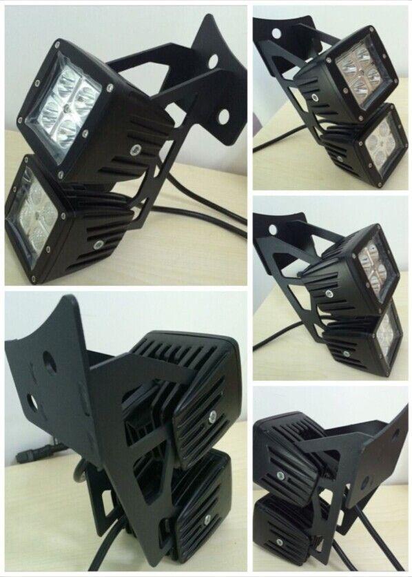 brackets led work light jeep light bar brackets mount. Black Bedroom Furniture Sets. Home Design Ideas