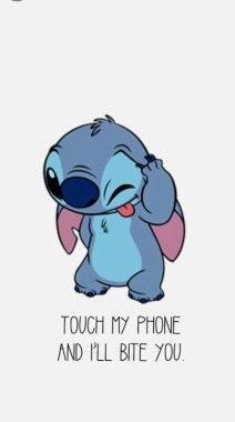 Pin By Marianafm On Stitch Cartoon Wallpaper Iphone Funny Iphone Wallpaper Funny Phone Wallpaper