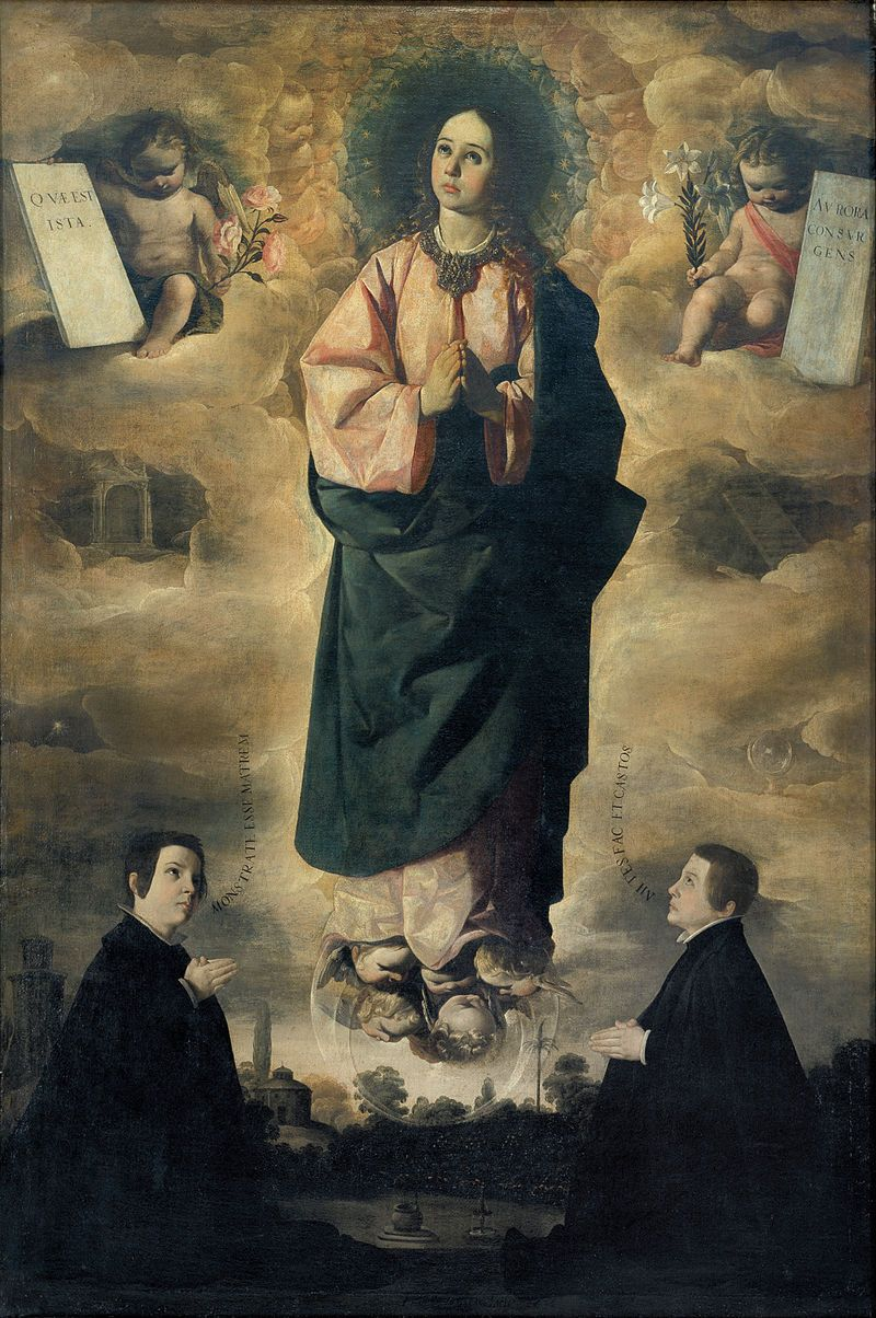 Arte Wikipedia It Francisco De Zurbarán Immaculate Conception Google Art Project