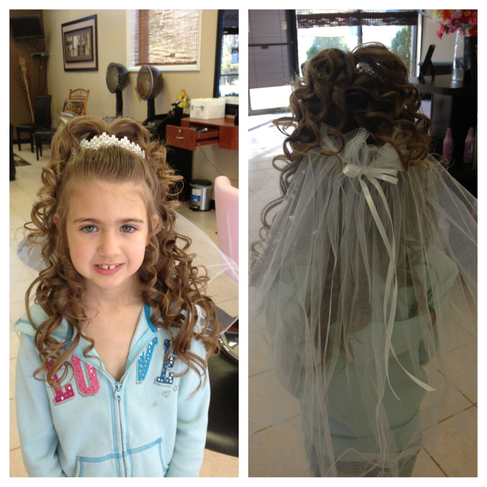 up do for first communion !!! | up do & make up !!! in 2019