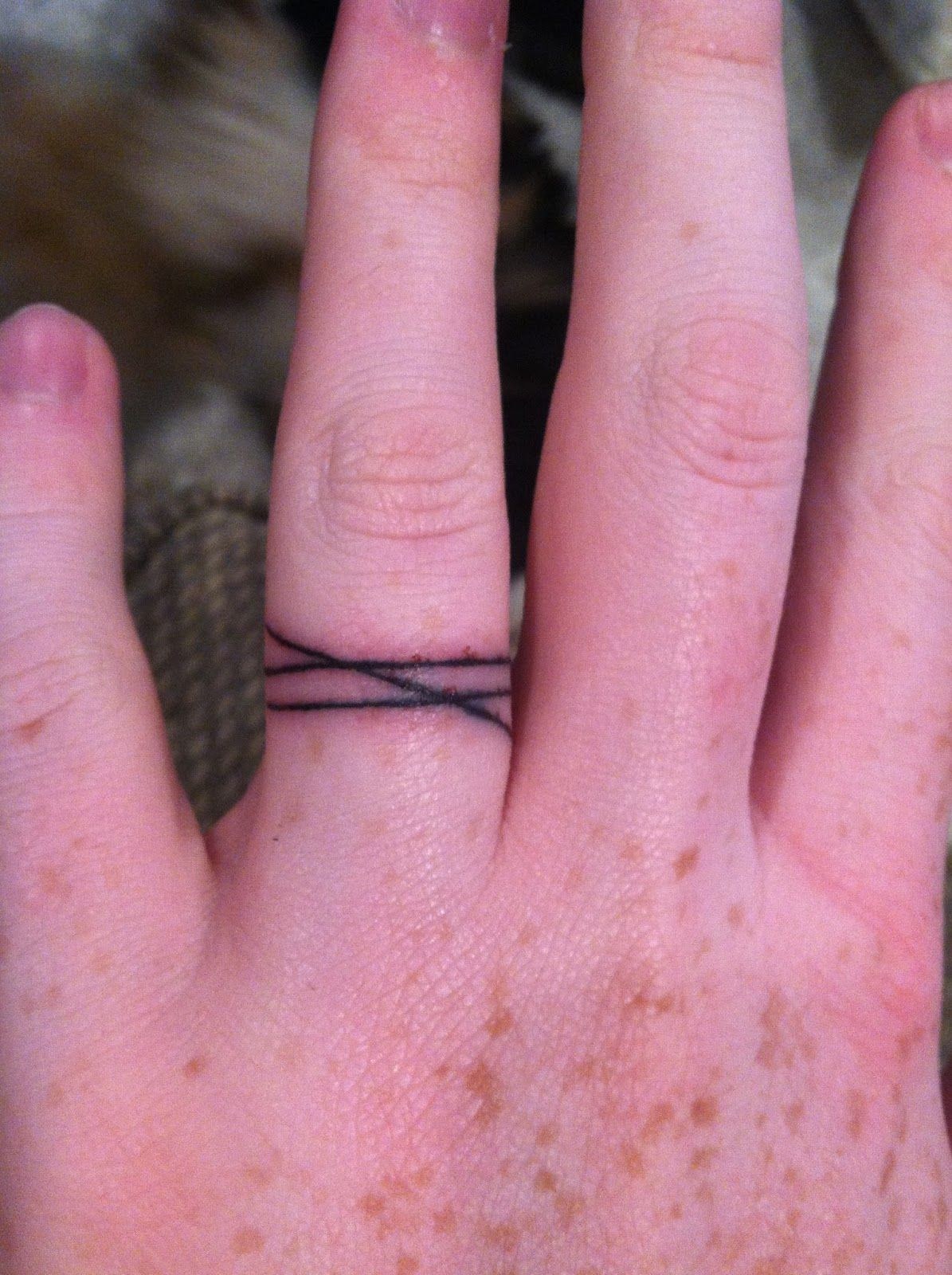 Ring tattoo idea: threefold cord is not easily broken (Ecc 4:12 ...