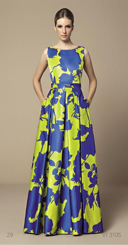 Vestido Elegante, porém Simples ... Cores não tão chamativas não que ...