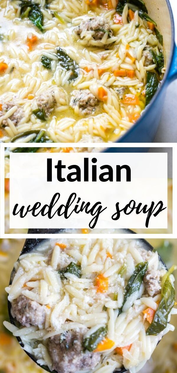 Easy Italian Wedding Soup #italianweddingsoup This Easy Italian Wedding Soup is loaded with homemade meatballs made out of ground pork and beef, loaded with fresh vegetables and is low in sodium thanks to MSG! #whyusemsg #krollskorner #weddingsoup #italianweddingsoup #italianweddingsoup Easy Italian Wedding Soup #italianweddingsoup This Easy Italian Wedding Soup is loaded with homemade meatballs made out of ground pork and beef, loaded with fresh vegetables and is low in sodium thanks to MSG! #w #italianweddingsoup