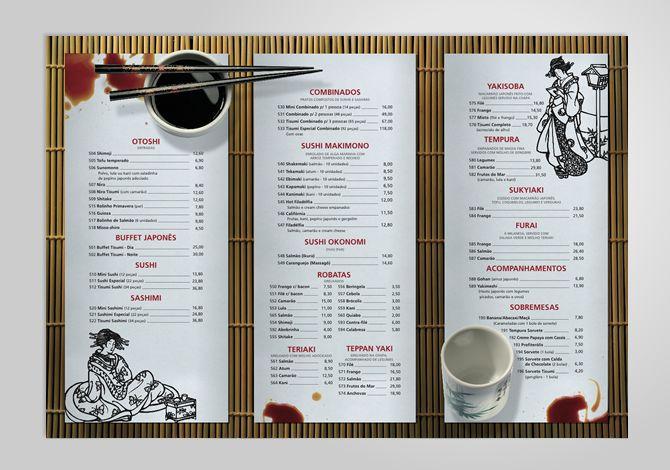 restaurants menu design ideas