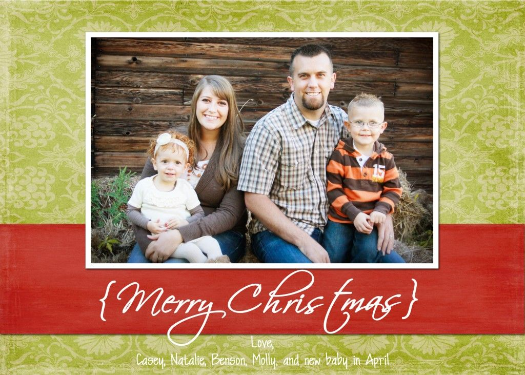 Christmas Card 2011 Photoshop Christmas Card Template Holiday Card Template Christmas Photo Card Template