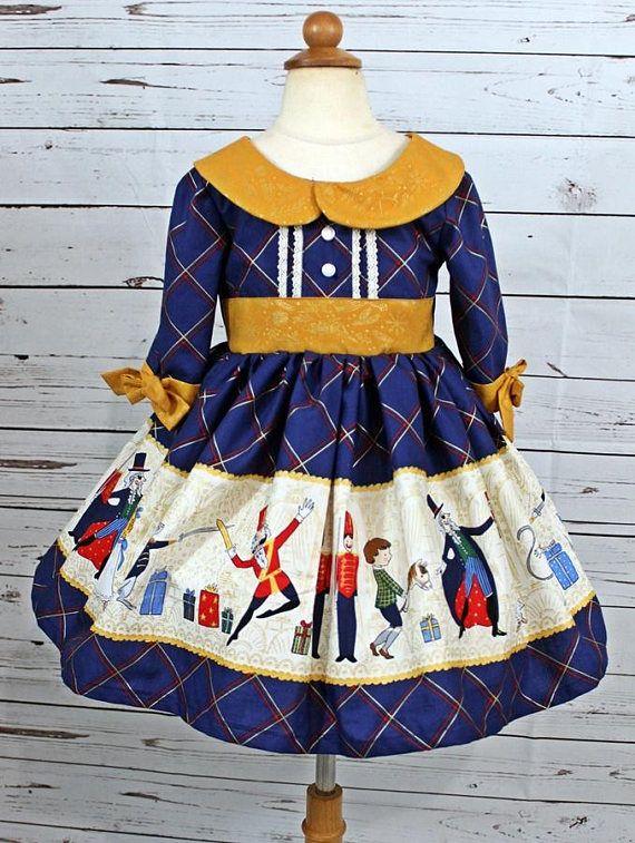 a9f12fe467d8f Girls Nutcracker Dress Girls Christmas Dress Toddler girls | Sewing ...