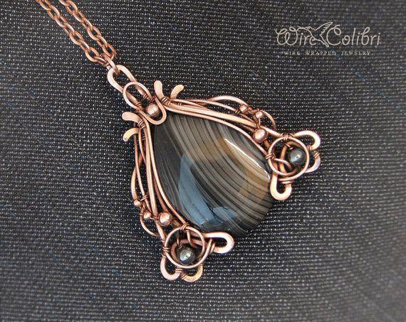 wire wrap stone - Google Search   Jewelry   Pinterest   Wire wrapped ...