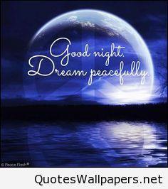 Good Night Dream Saying For Pinterest