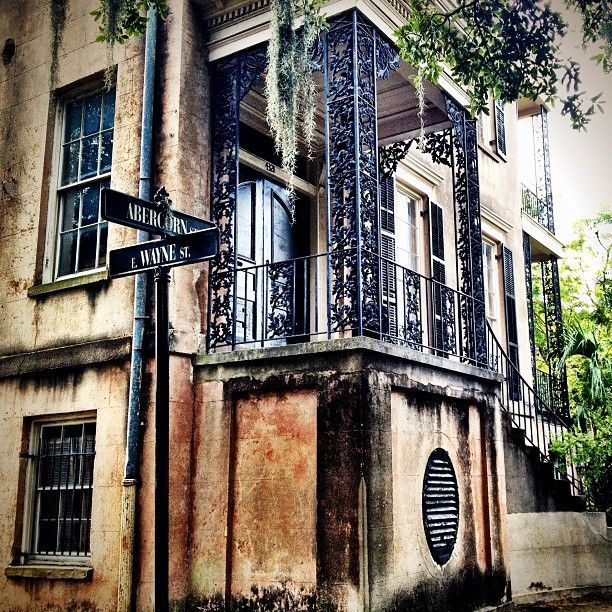 432 Abercorn St One Of The Most Haunted Homes In Savannah