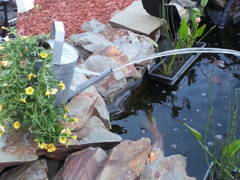 Make Your Own Pond Spitter Get A Pump