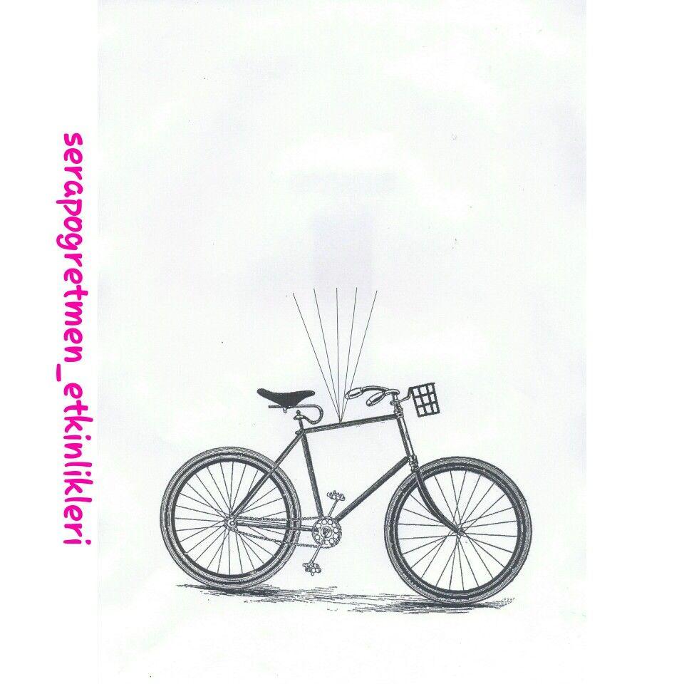 Uçan Bisiklet Kalıbım Biz Parmak Baskısı Kalp Delgeç Kulak çöpü