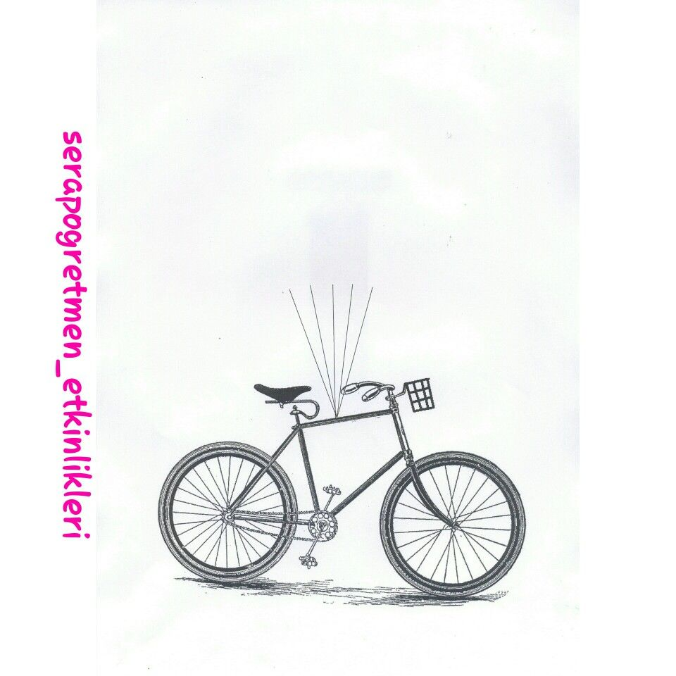Ucan Bisiklet Kalibim Biz Parmak Baskisi Kalp Delgec Kulak Copu