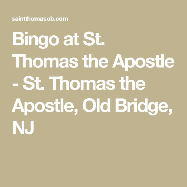 st thomas the apostle old bridge nj