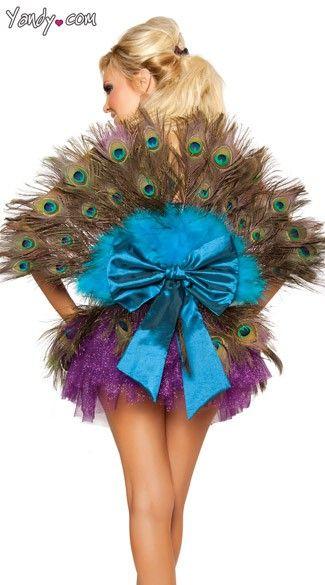 playboy peacock costume.  #halloween-explosion