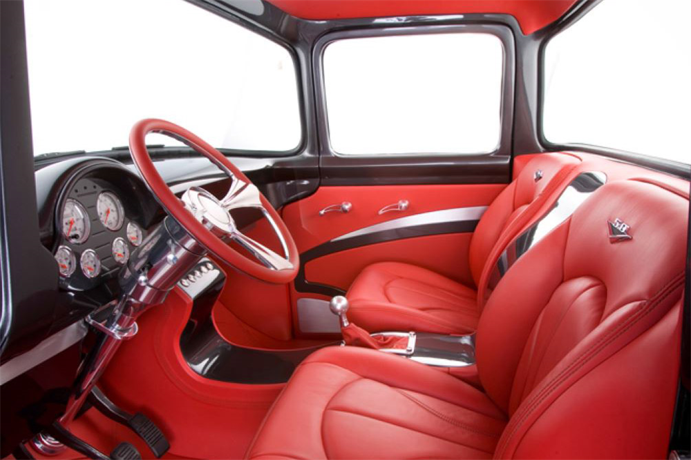 1956 FORD F-100 CUSTOM PICKUP - Interior - 190030 | Pickup ...