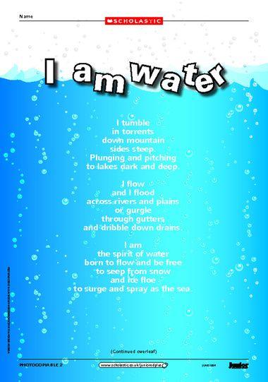 poem about water - Khafre