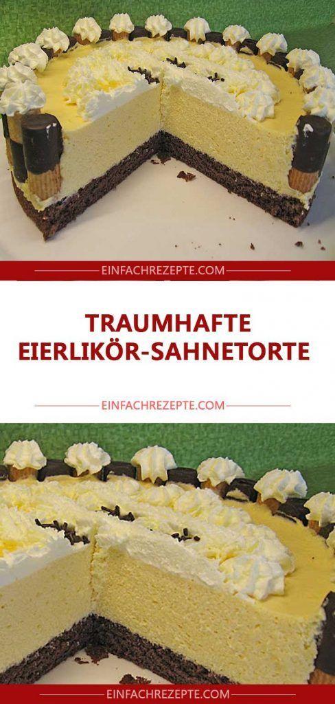 Photo of Fantastic eggnog cream cake 😍 😍 😍