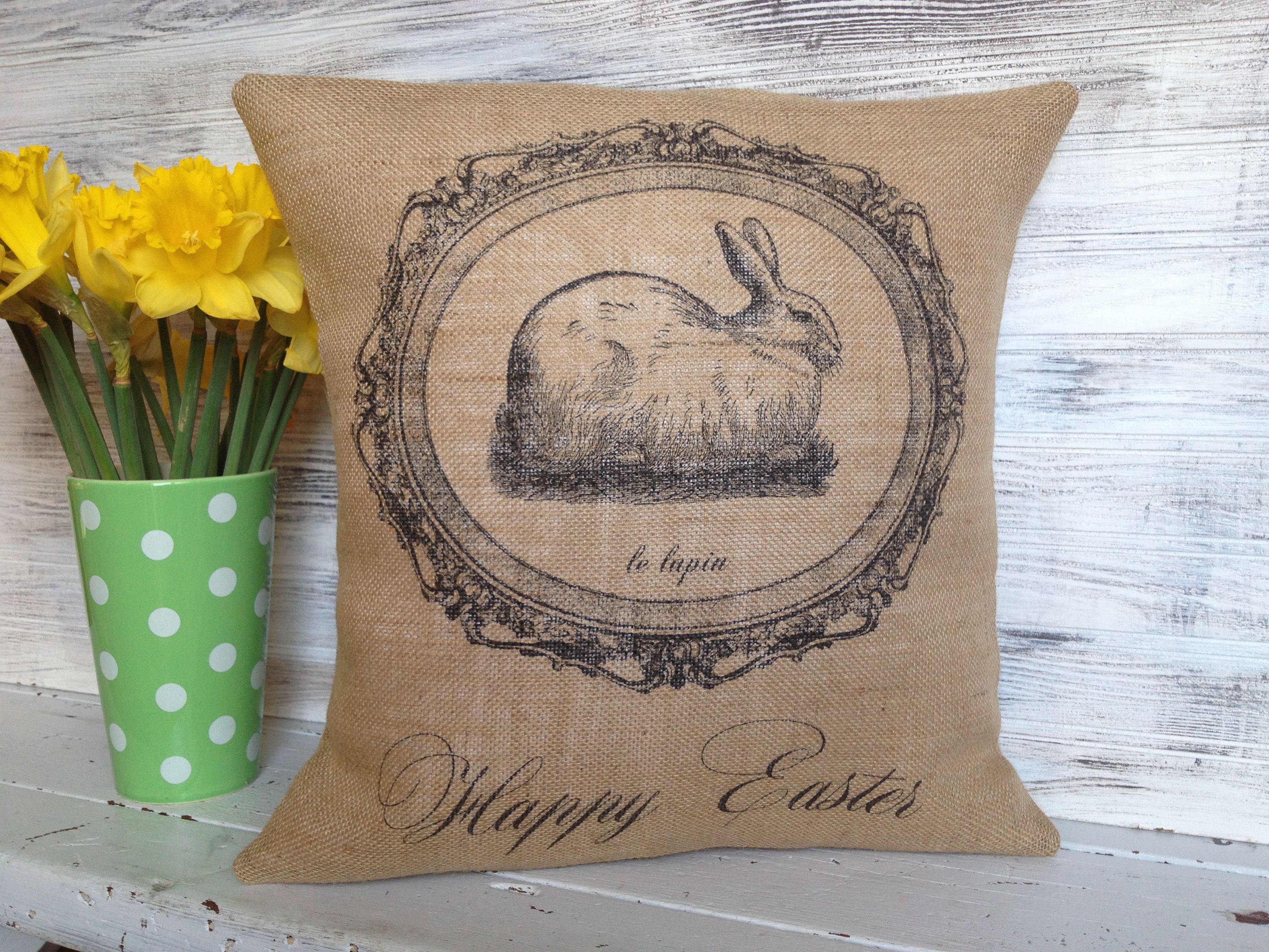 French Style Bunny Easter Pillow https://www.etsy.com/listing/265074322/easter-french-style-pillow-french?ref=listing-shop-header-3