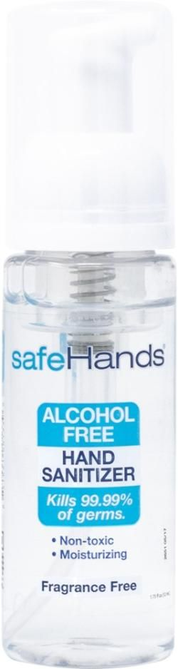 Safehands Alcohol Free Hand Sanitizer In 2020 Alcohol Free Hand