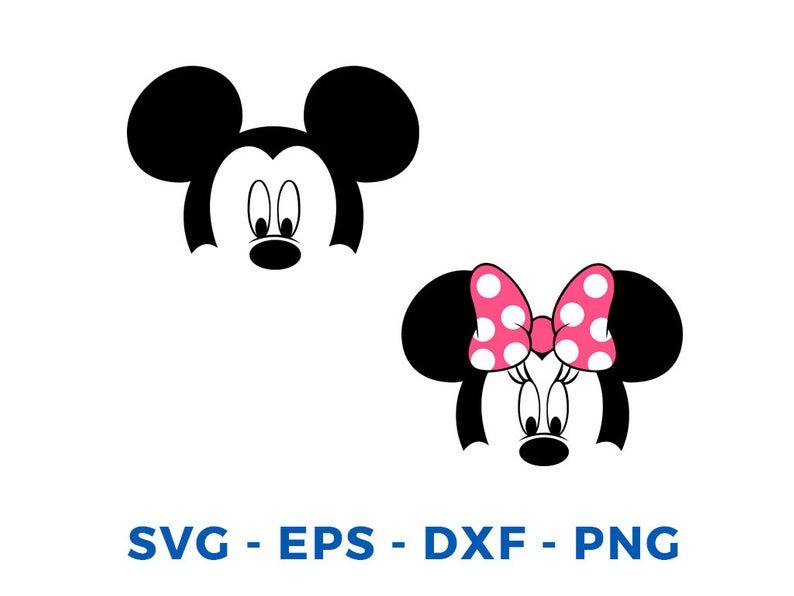 Pin By Videsignart On Svg Vector Silhouette Cameo Vinyl Mickey Silhouette Minnie