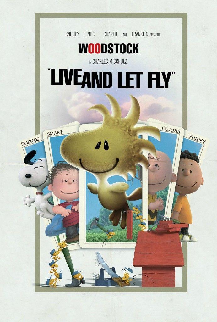 Snoopy & Charlie Brown contra SPECTRE: uma disputa de bilheteria em pôsteres…