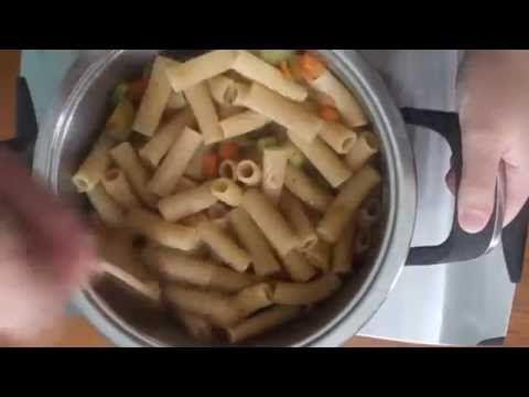 Pasta With Vegetables - Pasta con l verdure