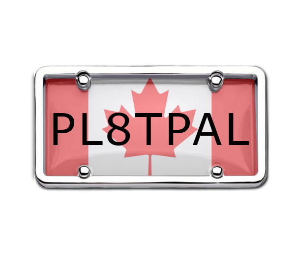 This Canadian License Plate Cover Will Make Your Bike More Appealing  sc 1 st  Pinterest & Give stunning look to your car by decorative car number plate ...