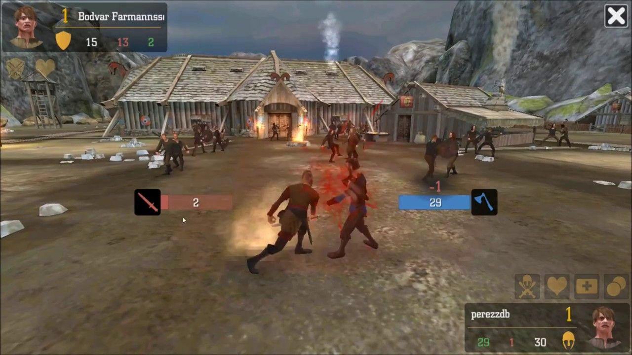Ragnarok Vikings At War Android Game First Look Gameplay Español Android Games Gameplay War