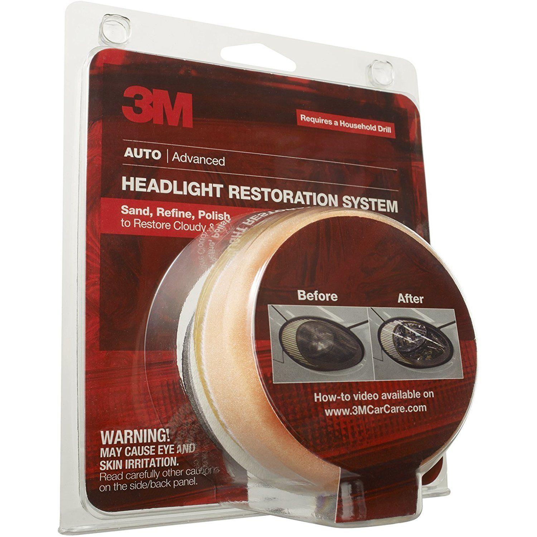 3m 39008 headlight lens restoration system click image