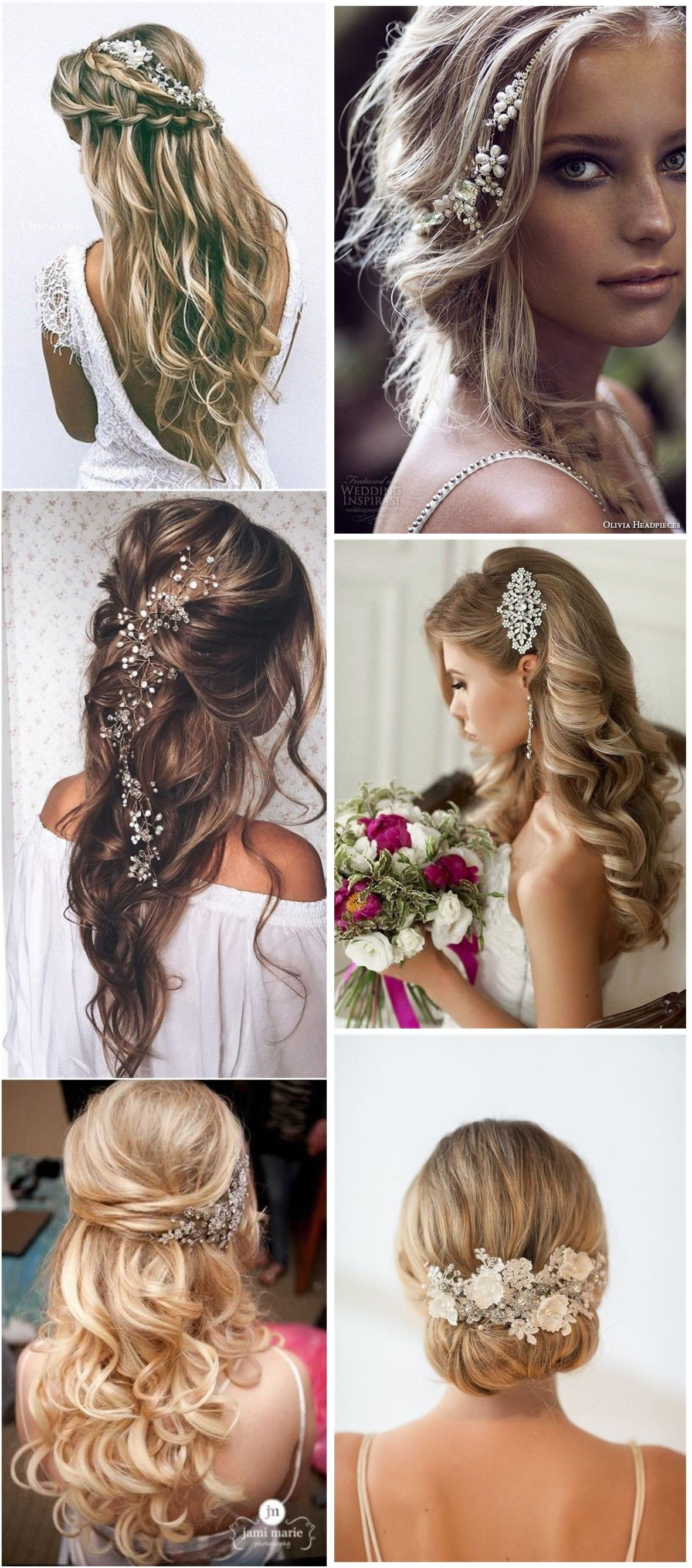 hair comes the bride - 20 bridal hair accessories get style