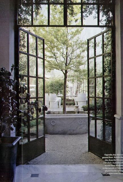 Courtyard | ideas for rooms | Pinterest | Notre maison, Habillage et ...