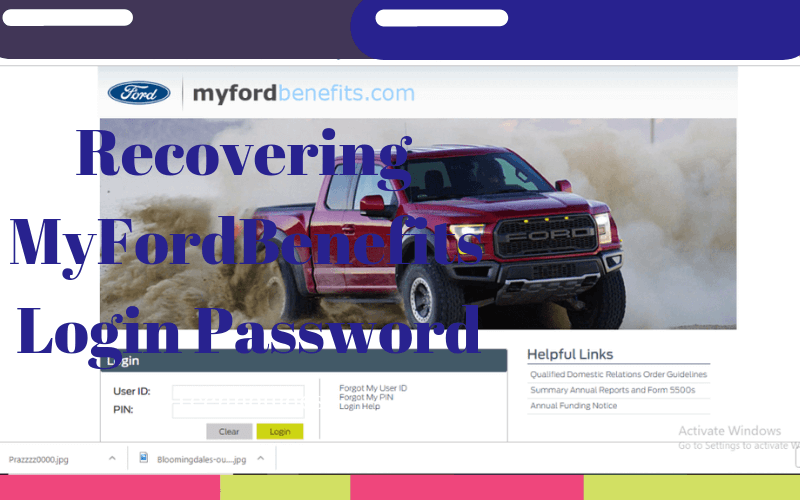 My Ford Benefits >> How To Access Myfordbenefits Account Login Myfordbenefits