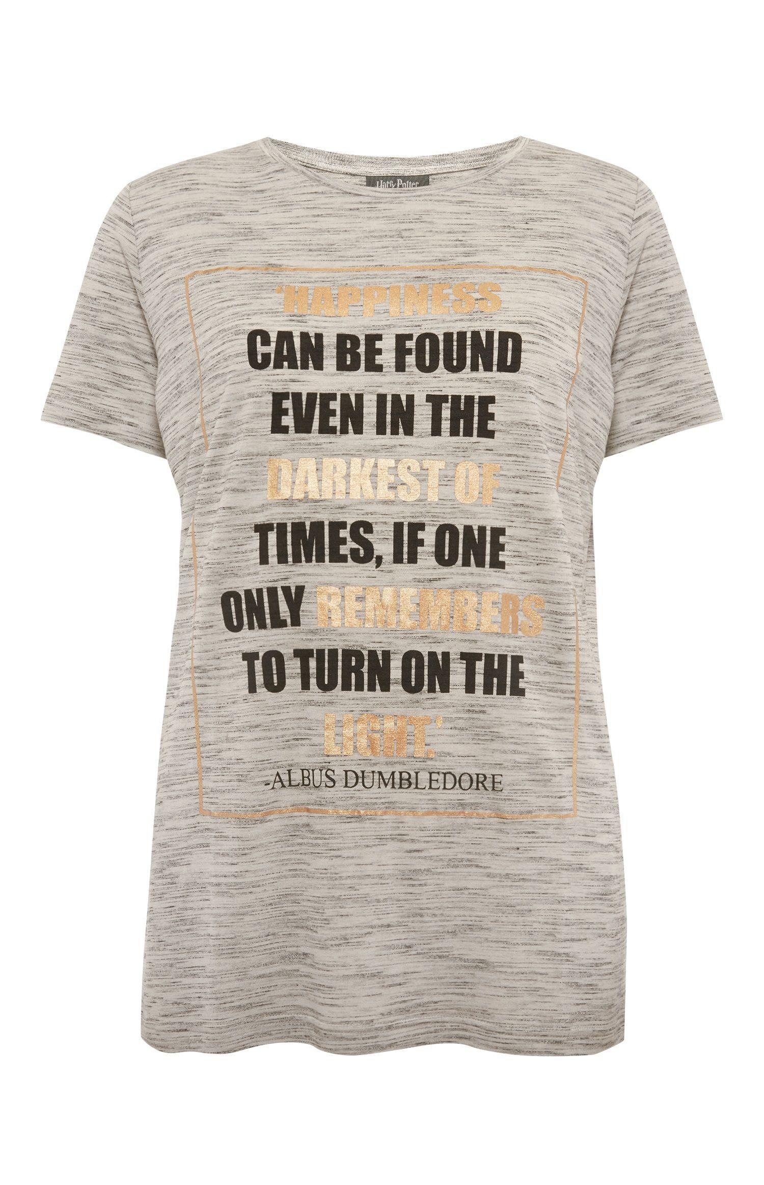 403e261cd Primark - Harry Potter Dumbledore Quote T-Shirt | my style | Primark ...