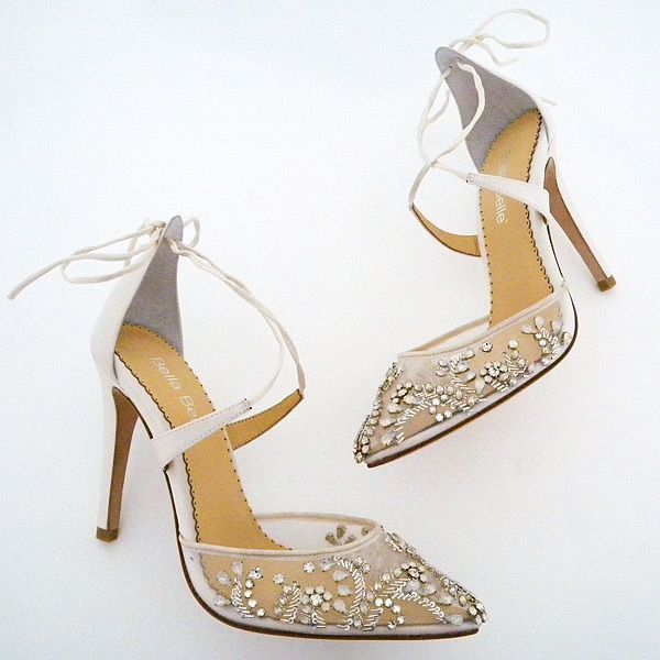 5bcbf98f5f8 Florence Crystal Beaded Wedding Shoes | Member Board: Bride & Bridal ...