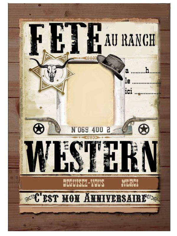 anniversaire western
