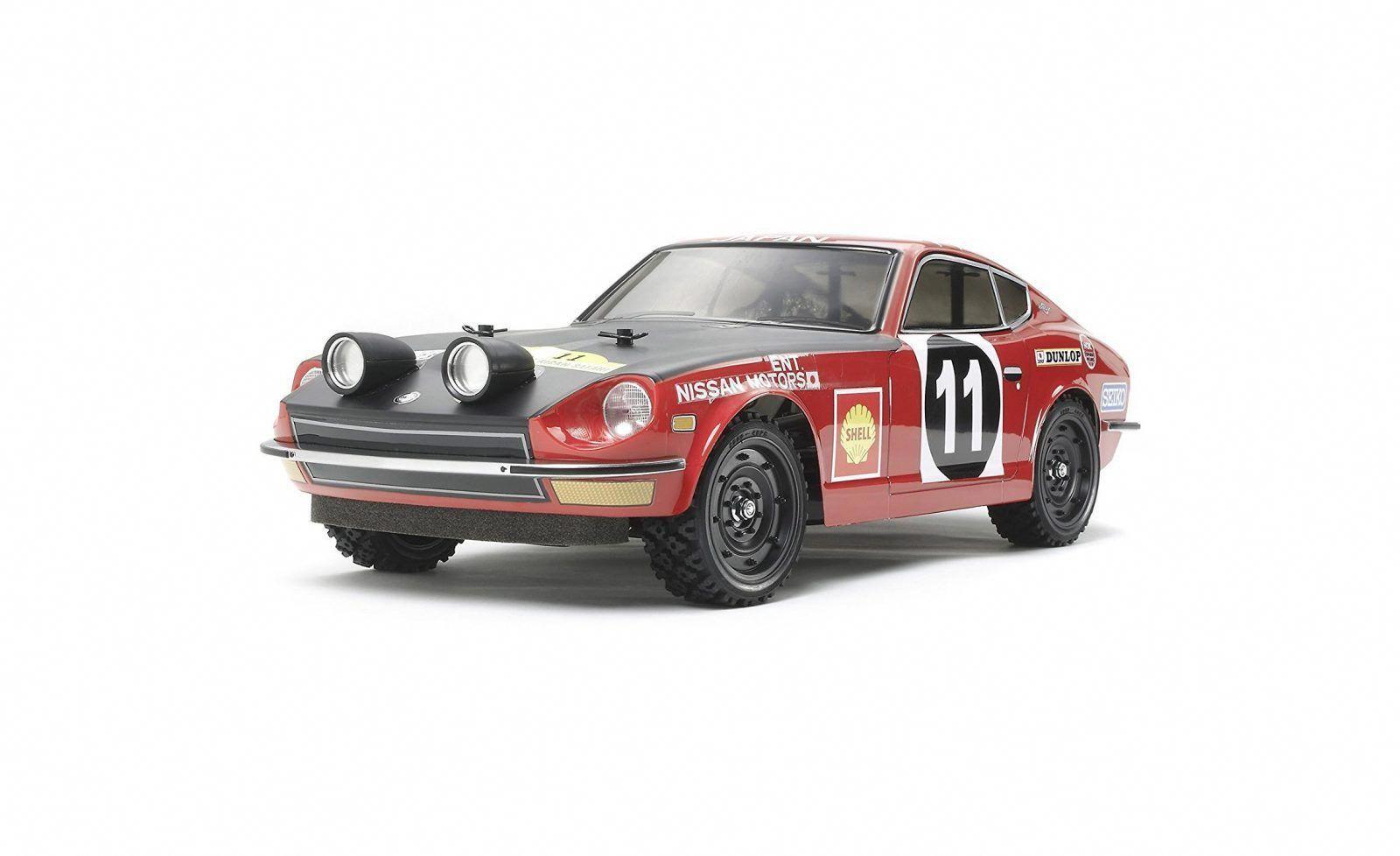 Tamiya 1 10 Scale Remote Control Datsun 240z Rally Version Datsun 240z Datsun Remote Control Cars