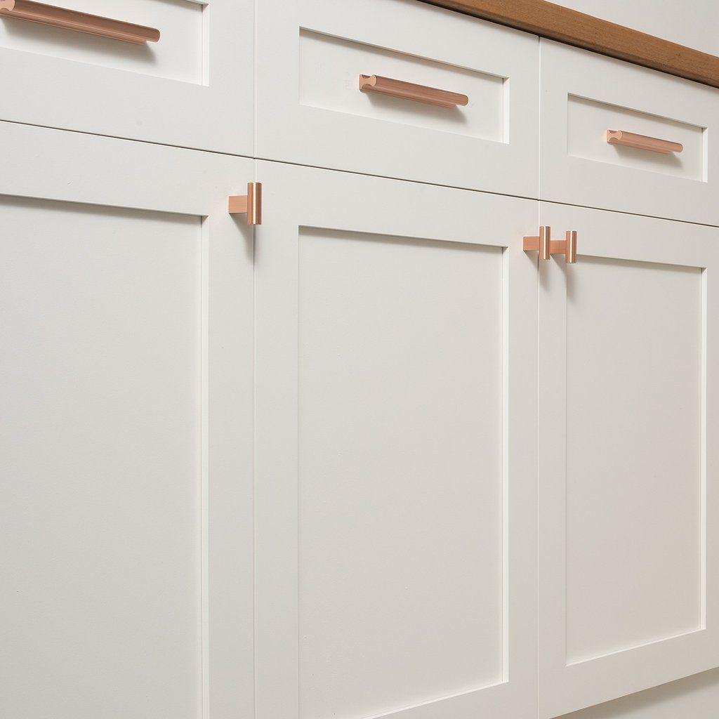 T Pull Satin Copper Kitchen Cabinet Pulls Kitchen Handles Kitchen Cabinets