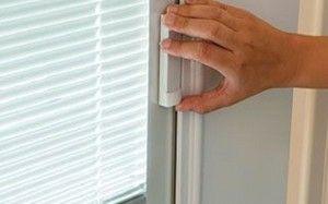 Blinds Inside The Sliding Glass Doors Master Bed