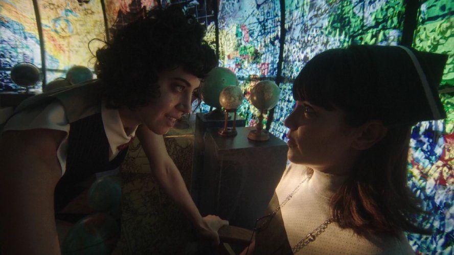 Katie Aselton and Aubrey Plaza in Legion (2017)