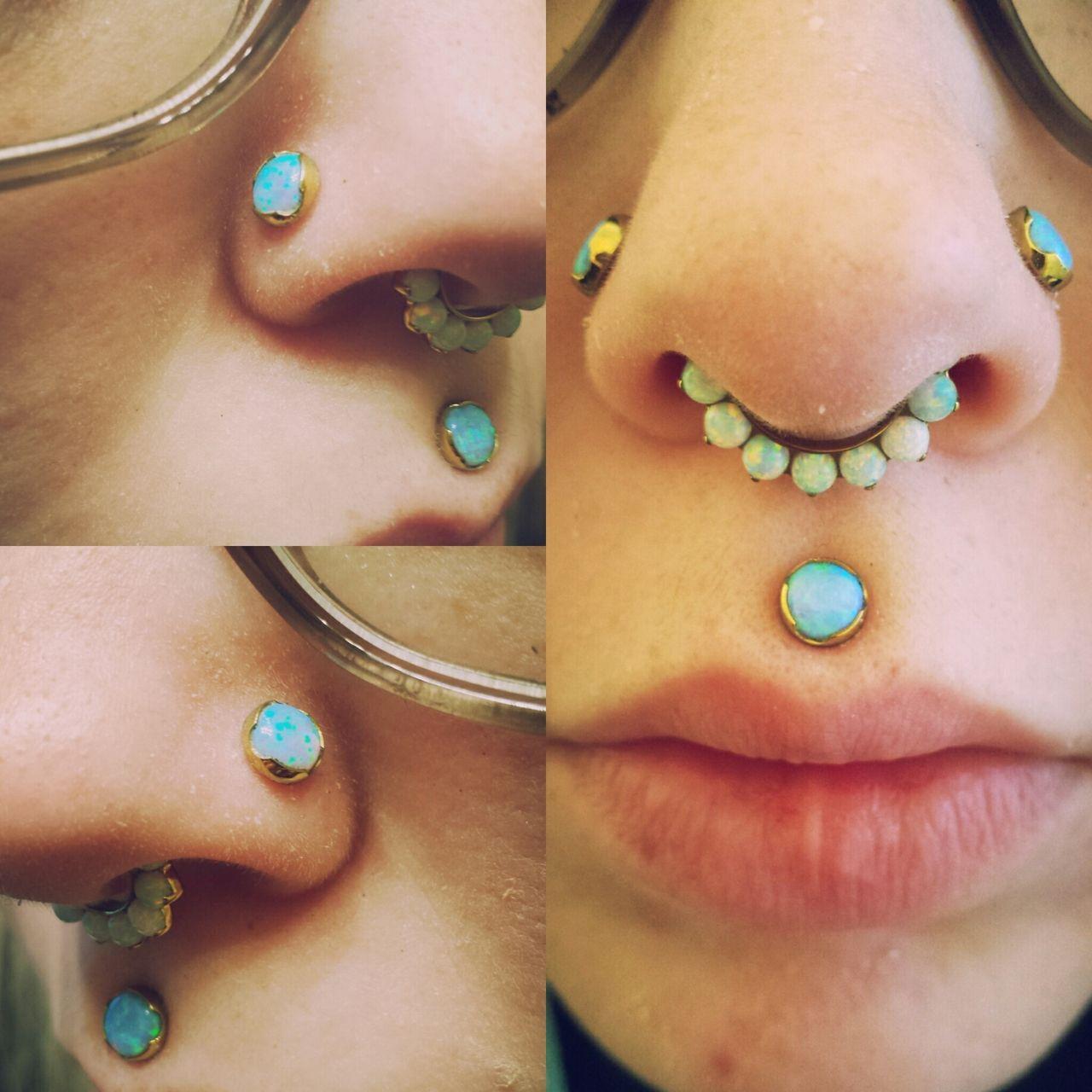 Nose piercing post  celestialsithtumblrpostmyfaceisfinally