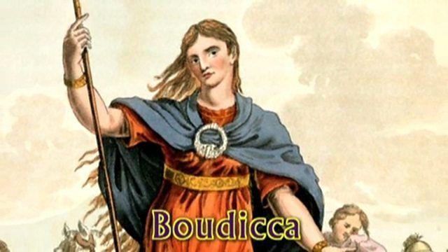 Boudicca (Siglo I d.C.), nacida alrededor del año 30 d.C., era la esposa del rey de la tribu de los icenos, Prasutagus. Tras la muerte de este rey, Roma no respeto la linea de sucesion, llegando a esclavizar a todas las personas del pueblo. Boudicca decidió entonces rebelarse contra Roma, algo que era un suicidio pero que ella consiguió al menos intentarlo. Con una voluntad de hierro, la reina de los icenos organizó un ejército que consiguió conquistar Camulodunum. Finalmente no tuvo exito.