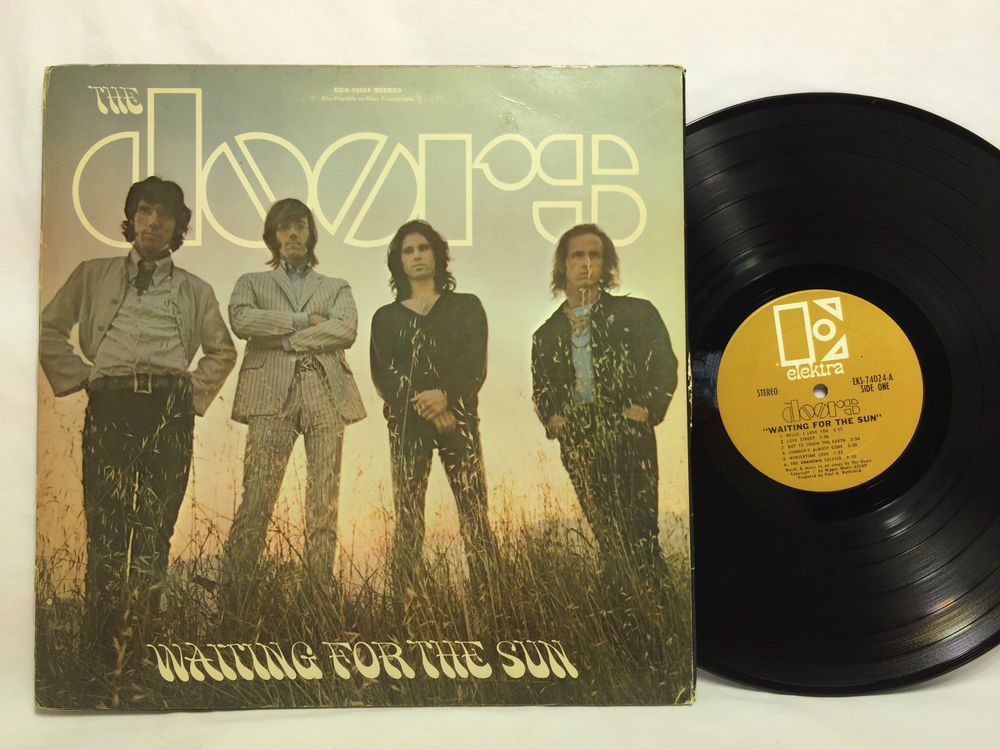 The Doors Waiting for the Sun Elektra Gold Label Record Vinyl LP Gatefold & The Doors Waiting for the Sun Elektra Gold Label Record Vinyl LP ...