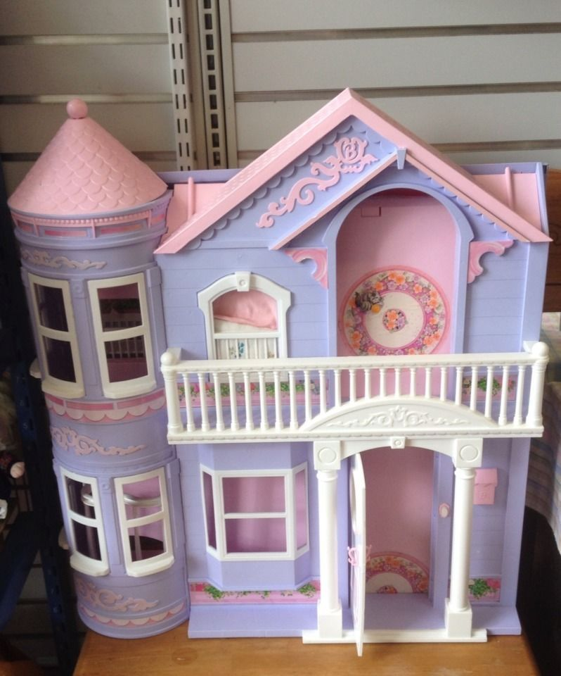 Dreams House Furniture: Barbie Dream House Mattel Vintage Victorian Dollhouse W