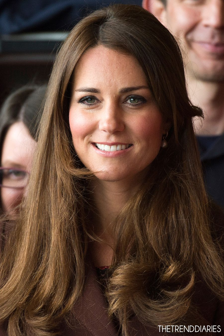 Kate Middleton na Pesca Centro do Património Nacional e Corpo de Bombeiros Peaks Lane, em Grimsby, Inglaterra - 05 de março de 2013