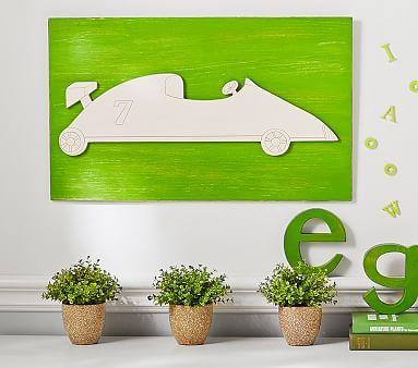 Car Planked Art Plank Art Pottery Barn Kids Kid Room Decor