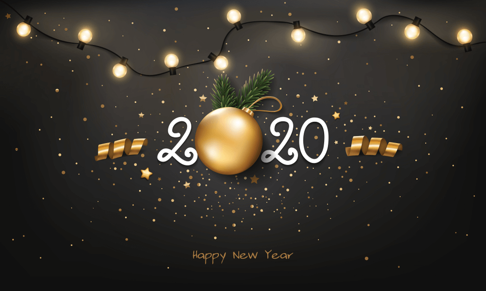 500 Best Happy New Year 2020 Wallpaper Background Images