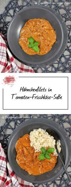 Hähnchenfilets in Tomaten-Frischkäse-Soße