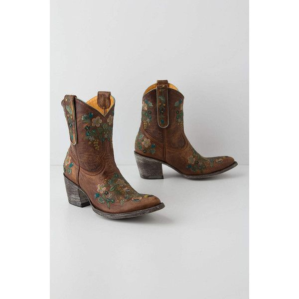 cc8846d5ab4e Sora Embroidered Cowboy Boots ( 560) ❤ liked on Polyvore